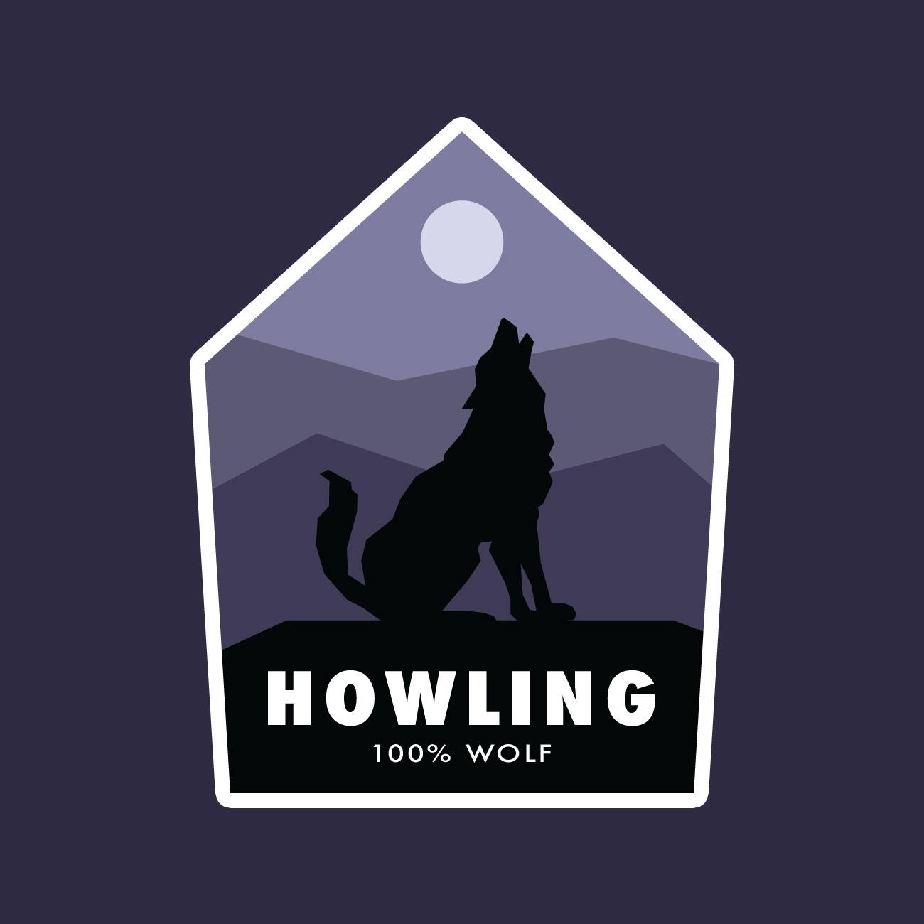 howling-badge